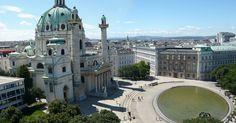 Karlsplatz em Munique #viajar