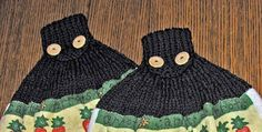 Yarn Visions: Ribbed Towel Toppers