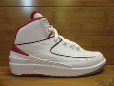 Vtg OG 2014 Nike Air Jordan II 2 s sz 5y VI Retro He Got Game White Red Randy DS #Jordan #Athletic #tcpkickz