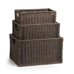LARGE (size 1) 21.5 L x 15.5 W x 12.5   sc 1 st  Pinterest & 101 best Accessories - Bins and Baskets images on Pinterest | Master ...