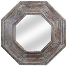 Refinish my mirror to look like this!  Restoration Hardware Look-Alikes: Restoration Hardware Salvaged Octagonal Mirror