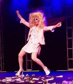 *referees mumbling* yeah I'm going to go ahead and call this one guys. Final call: Official death drop team Trixie Mattel.
