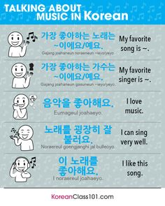 Learn Korean - KoreanClass101.com — Music Vocabulary in Korean Want more Korean...