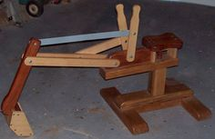 Wooden digger plans