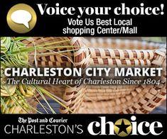 The Historic Charleston City Market in the heart of Charleston, SC