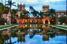 Blue hour in Balboa Park | Flickr - Photo Sharing!