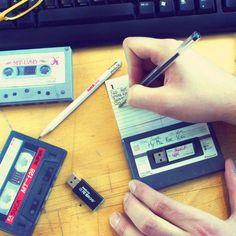 Mix Tape USB Stick #music #mixtape #love