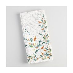 Cost Plus World Market Klara Floral Napkins Set of 4 $13. (Bought the platter on sale, these match and can be used year round)