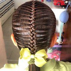 peinadoscolorin's Instagram photos   Pinsta.me - Explore All Instagram Onlinebraid Kids Braided Hairstyles, Little Girl Hairstyles, Pretty Hairstyles, Little Girl Braids, Girls Braids, Competition Hair, Gymnastics Competition, Updo, Gymnastics Hair