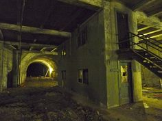 Abandoned subway system under Los Angeles