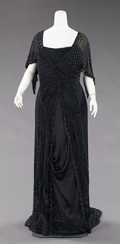Mourning Dress  1910  The Metropolitan Museum of Art