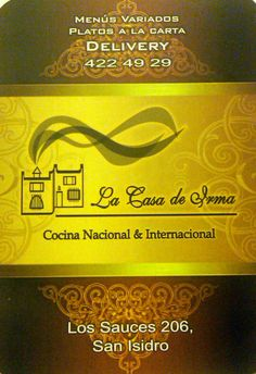 La Casa de Irma - Los Sauces, 206 San Isidro, Lima, Peru
