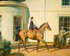 My Wife, My Horse and Myself by Alfred James Munnings