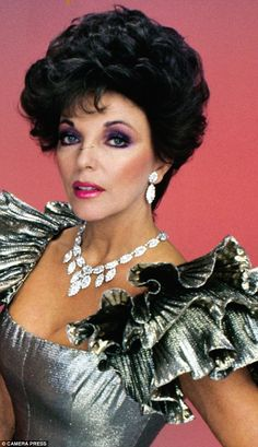 Joan Collins as Alexis Colby in Dynasty