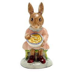 Buntie Helping Mother DB2 - Royal Doulton Bunnykins. #RoyalDoulton #Christmas #Tree #Decor #Figurines #Gift #Giftideas #gosstudio .★ We recommend Gift Shop: http://www.zazzle.com/vintagestylestudio ★