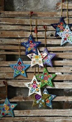 A Bohemian Style Christmas | ESTRELLAS | Pinterest