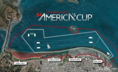 Next year's America's Cup course!