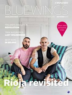 """HEY FLY FINNAIR! MUM's at page 41 """"Nordic Upcyclers"""". Thank You, Finnair! <3 Blue Wings Smart issue May-June 2017 by Finnair_BlueWings - issuu"""