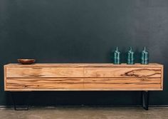 Our handmade furniture sale is still on for a limited time! This striking solid timber credenza is one of the many beautiful pieces we have… Furniture, Timber, Tv Cabinets, Handmade Furniture, Cabinet, Interior Furniture, Timber Shelves, Living Room Tv, Furniture Sale