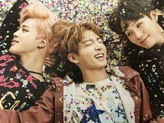 Pinkmin,kookie ,Yoongi
