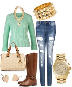 gold and turquoise.. my life!!