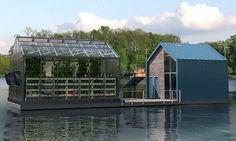 Invernadero flotante urbano que produce energía limpia y comida orgánica. 10 ABRIL, 2016