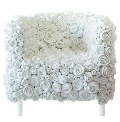 Living Room - Felt Roses Chair by Ricrea from http://www.chairdesigning.com/unique-chair-design-with-covered-by-felt-roses-materials-felt-roses-chair-by-ricrea.html#more-1490