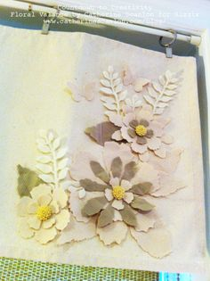 Jumbo Tattered Florals Inspiration: Day 6