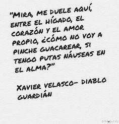 Letras encontradas navegando Diablo Guardian Frases, Great Quotes, Inspirational Quotes, 2017 Quotes, Rebel, More Than Words, Book Quotes, Falling In Love, Decir No