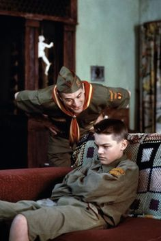 "Leonardo DiCaprio & Robert De Niro in ""This Boy's Life"""