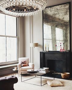 {décor inspiration : a manhattan loft, interior design by ochre}