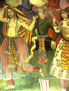 PERSIAN LOVERS-16th CENTURY