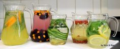 flavored waters!