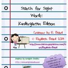 Searching for Sight Words: Kindergarten Edition $2