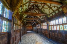 Little Moreton Hall's long gallery