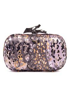 Diane von Furstenberg clutch in leopard print! Clutch Bag Pattern, Clutch Purse, Coin Purse, Starbucks, Leopard Clutch, Best Purses, Louis Vuitton Speedy Bag, Evening Bags, Purses And Handbags