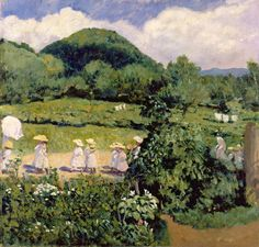 size: Giclee Print: Picnic in May, Summer Day, 1906 by Karoly Ferenczy : History Images, Art History, Budapest Travel, Victor Vasarely, Pretty Pictures, Impressionist, Summer Days, Giclee Print, Fine Art