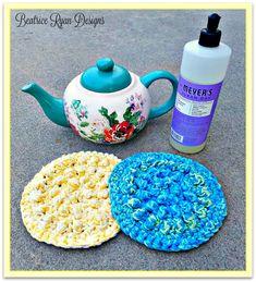 Thick & Quick Round Bumpy Scrubby…Free Crochet Pattern