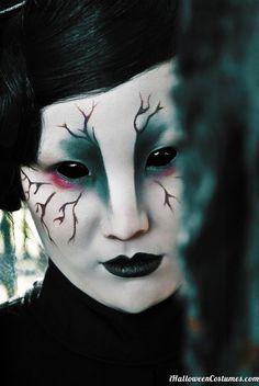 Freaky Halloween Makeup - Halloween Costumes 2013