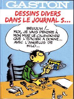 GASTON LAGAFFE DESSINS DIVERS DANS LE JOURNAL S...