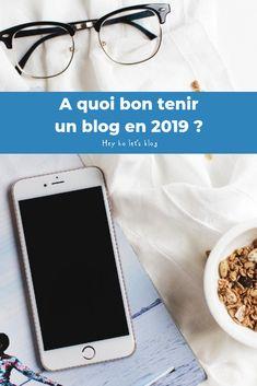 A quoi bon tenir un blog en 2019 ? 5 bonnes raisons d'ouvrir son blog cette année ! Community, Passion, Let It Be, Writing, Iphone, Tips And Tricks, Social Media, Graphic Design, A Letter