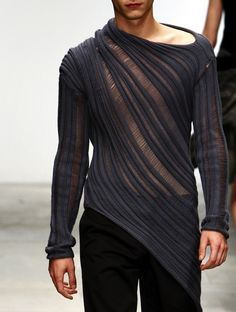 I have the shoulder muscles to wear this slinky number, but in black for me!                                                                                                                                                                                 More