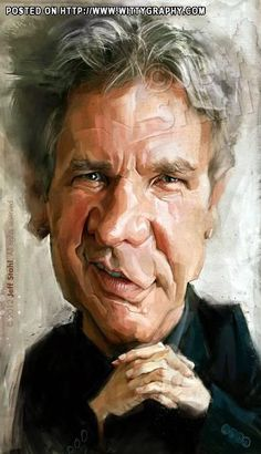Harrison Ford // by Jeff Stahl