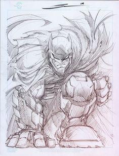 Armored Batman by Sandoval-Art.devi on - Batman Poster - Trending Batman Poster. - Armored Batman by Sandoval-Art. Batman Painting, Batman Drawing, Batman Artwork, Batman Comic Art, Batman Robin, Batman Batman, Batman Arkham, Character Sketches, Art Sketches