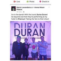 WEBSTA @ duranduran - #DuranDuran, #MoonPalaceArena, #duranlive, #PerezHilton