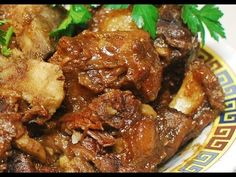 Braised Beef Oxtail  with Taro: Authentic Chinese Cooking ( Cantonese Style )