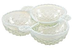 Opalescent Bubble Glass Bowl on OneKingsLane.com