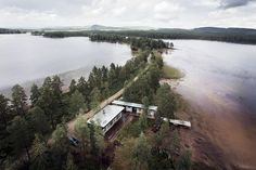 Lake House - Dalarna,in Sweden  photo from #paulwhybrow Paul Whybrow at paulwhybrowblog.wordpress.com