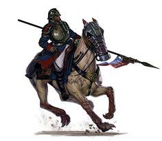 Deathkorps of Krieg rough rider by DiegoGisbertLlorens