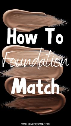 Finding your perfect foundation match can be a challenge. Here are some super helpful tips and a video tutorial on how to find your foundation shade match. Find Your Foundation Shade, How To Match Foundation, Perfect Foundation, Makeup Tips Foundation, Flawless Foundation, Drugstore Foundation, Flawless Makeup, Skin Makeup, Makeup Brush
